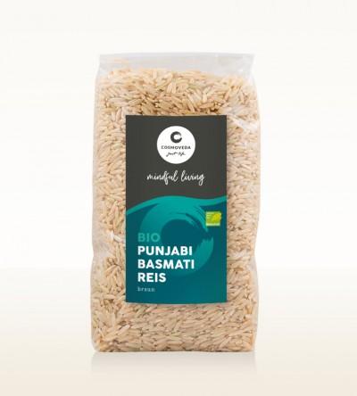BIO Punjabi Basmati Reis braun 500g