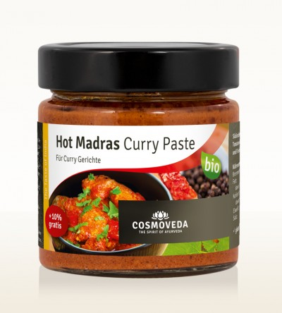 BIO Hot Madras Curry Paste 175g