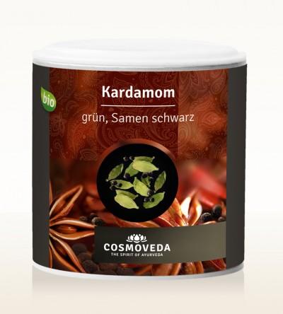 BIO Kardamom grün, Samen schwarz 100g