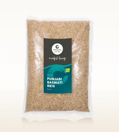 BIO Punjabi Basmati Reis braun 1kg