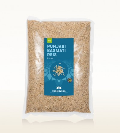 BIO Punjabi Basmati Reis braun 2,5kg