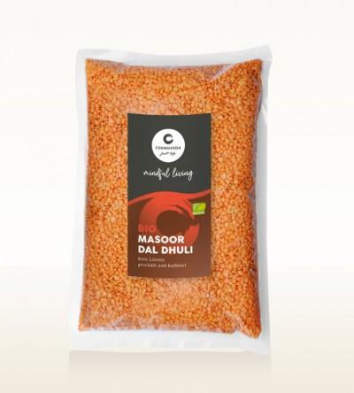 BIO Masoor Dal Dhuli - Rote Linsen, geschält und halbiert 10kg