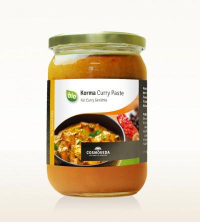 BIO Korma Curry Paste 600g