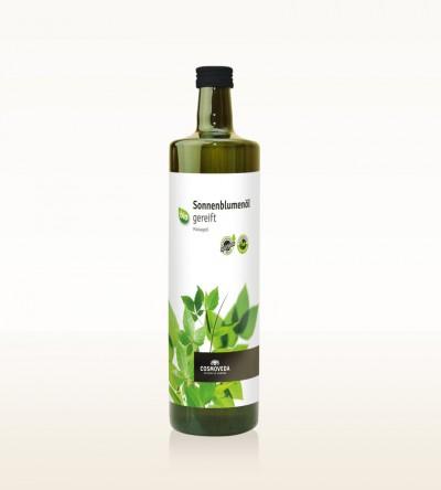 BIO Sonnenblumenöl gereift 1 Liter