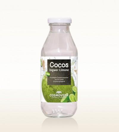 BIO Kokosnusswasser Ingwer Limone 360ml