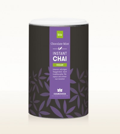 BIO Instant Chai Vegan - Chocolate Mint 200g