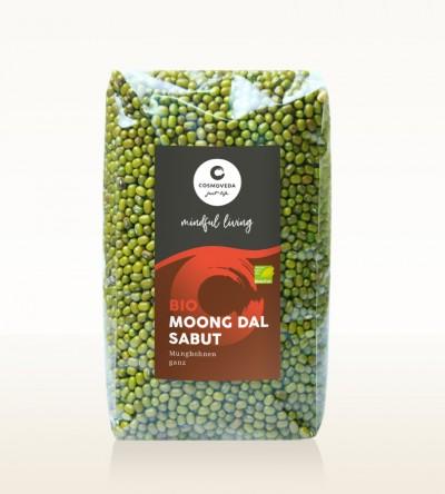 BIO Moong Dal Sabut - Mungbohnen, ganz 500g