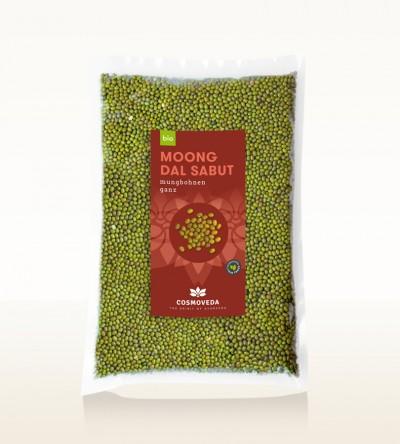 BIO Moong Dal Sabut - Mungbohnen, ganz 2,5kg