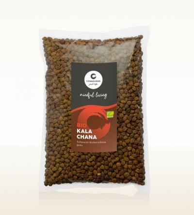 BIO Kala Chana - schwarze Kichererbsen ganz 1kg
