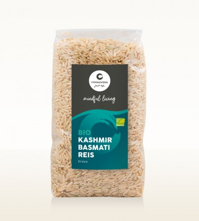 BIO Kashmir Basmati Reis braun 500g