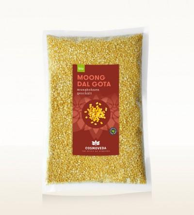 BIO Moong Dal Gota - Mungbohnen geschält 2,5kg