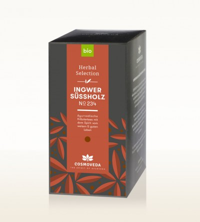 BIO Ingwer Süßholz Tee 20 x 1,8g