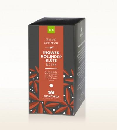 BIO Ingwer Holunderblüten Tee 20 x 1,8g