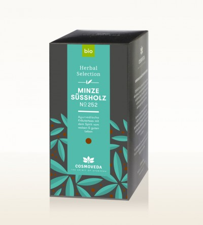 BIO Minze Süßholz Tee 20 x 1,8g