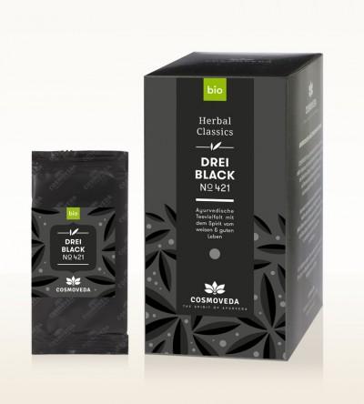 BIO 3 Black Tee