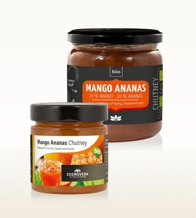 BIO Mango Ananas Chutney