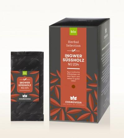 BIO Ingwer Süßholz Tee