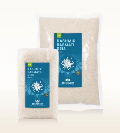 BIO Kashmir Basmati Reis weiß