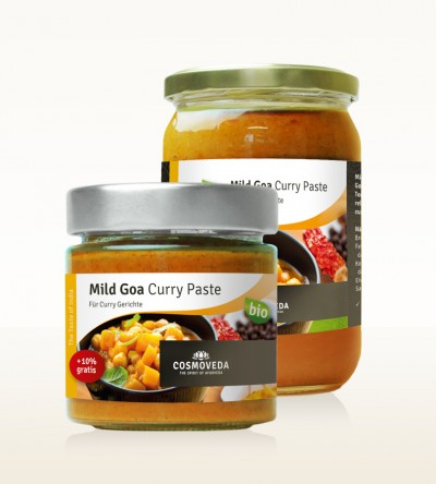 BIO Mild Goa Curry Paste
