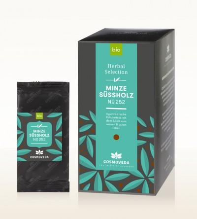 BIO Minze Süßholz Tee