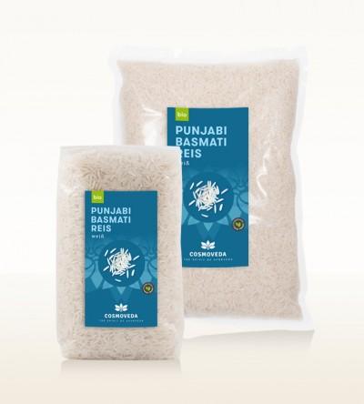 BIO Punjabi Basmati Reis weiß