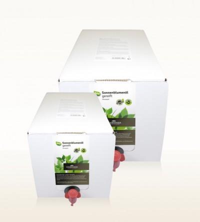 BIO Sonnenblumenöl gereift