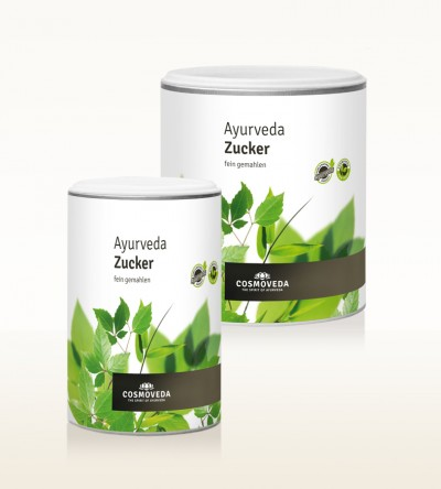 Ayurveda Zucker weiss Fair Trade