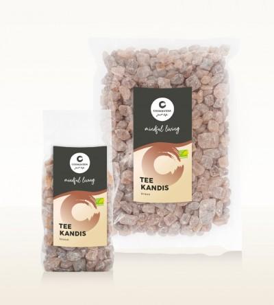 Ayurveda Tee Kandis braun Fair Trade