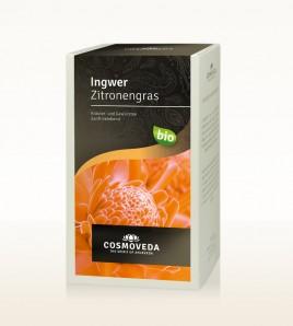 BIO Ingwer Zitronengras Tee 20x1,5g